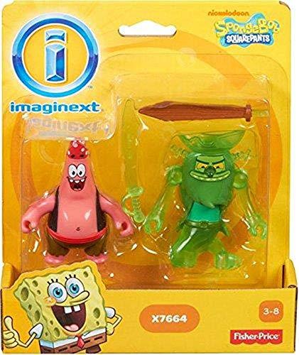 スポンジボブ カートゥーンネットワーク Spongebob キャラクター アメリカ限定多数 【送料無料】Imaginext, SpongeBob Squarepants, Patrick and the Flying Dutchman Exclusive スポンジボブ カートゥーンネットワーク Spongebob キャラクター アメリカ限定多数