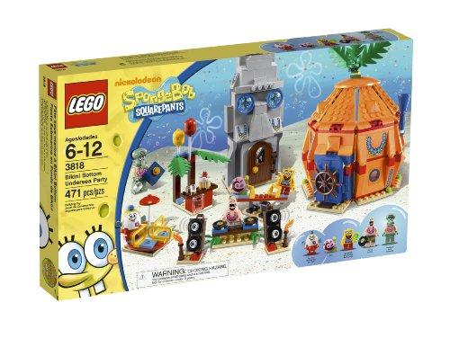 スポンジボブ カートゥーンネットワーク Spongebob キャラクター アメリカ限定多数 4654643 LEGO SpongeBob Bikini Bottom Undersea Party 3818スポンジボブ カートゥーンネットワーク Spongebob キャラクター アメリカ限定多数 4654643