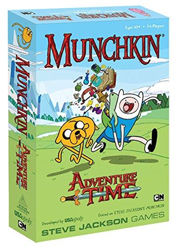 アドベンチャータイム カートゥーンネットワーク Adventure Time キャラクター アメリカ限定多数 MUS085 【送料無料】Munchkin Adventure Time Gameアドベンチャータイム カートゥーンネットワーク Adventure Time キャラクター アメリカ限定多数 MUS085
