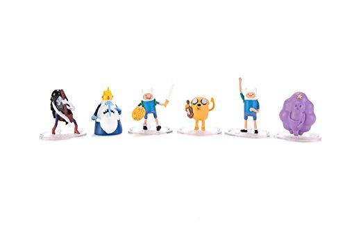 アドベンチャータイム カートゥーンネットワーク Adventure Time キャラクター アメリカ限定多数 Adventure Time2 Inch Mini Figure Deluxe 6-Pack Marceline, Finn, Ice アドベンチャータイム カートゥーンネットワーク Adventure Time キャラクター アメリカ限定多数