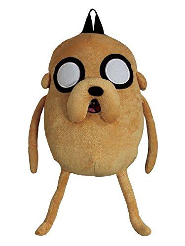 アドベンチャータイム バッグ バックパック リュックサック カートゥーンネットワーク Officially Licensed Adventure Time Backpack featuring Cartoon Jake the Dog Plush designアドベンチャータイム バッグ バックパック リュックサック カートゥーンネットワーク