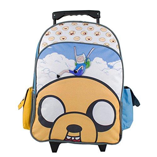 アドベンチャータイム バッグ バックパック リュックサック カートゥーンネットワーク Rolling Backpack - Adventure Time - Finn and Jakeアドベンチャータイム バッグ バックパック リュックサック カートゥーンネットワーク