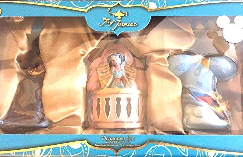 アラジン ジャスミン ディズニープリンセス Disney D23 Expo 2015 Exclusive Aladdin Art Of Jasmine Ornament Set LE 1000 NIBアラジン ジャスミン ディズニープリンセス