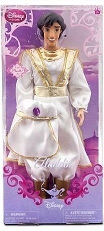 アラジン ジャスミン ディズニープリンセス Disney Princess PRINCE ALADDIN Poseable Doll 12'' (White Satin Outfit)アラジン ジャスミン ディズニープリンセス