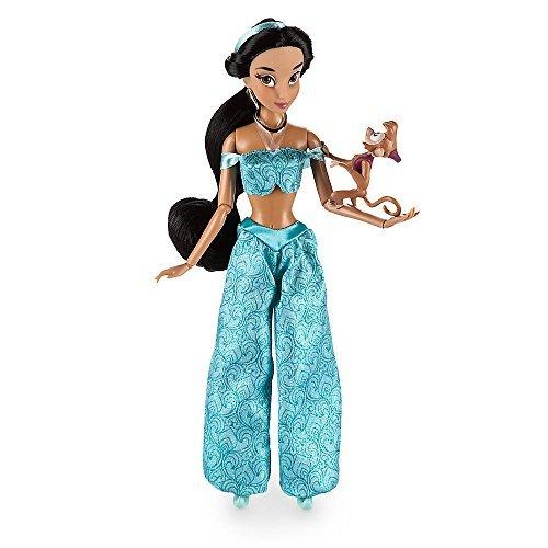 アラジン ジャスミン ディズニープリンセス Disney Disney Aladdin Jasmine classic doll with Abu about 30cm 2016 [parallel import goods]アラジン ジャスミン ディズニープリンセス