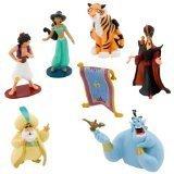 アラジン ジャスミン ディズニープリンセス Disney Aladdin Figurine Play Set - 7 Pc.アラジン ジャスミン ディズニープリンセス