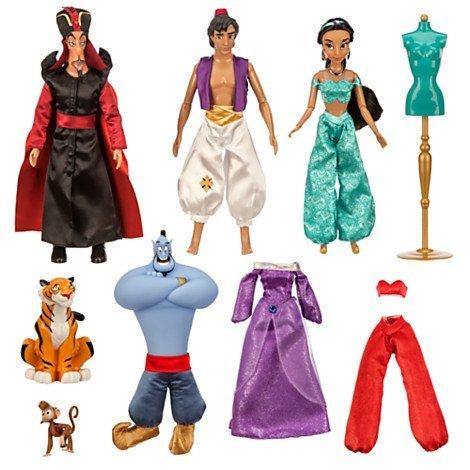 アラジン ジャスミン ディズニープリンセス US Version Disney Aladdin Deluxe Doll Gift Setアラジン ジャスミン ディズニープリンセス