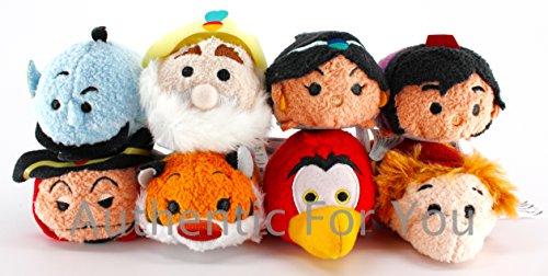 アラジン ジャスミン ディズニープリンセス US Disney Parks Aladdin Tsum Tsum Complete Set of 8 Mini 3.5