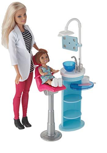 バービーキャリア デンティストドール&プレイセット 歯医者さん ディスプレイやプレゼントに DHB64
