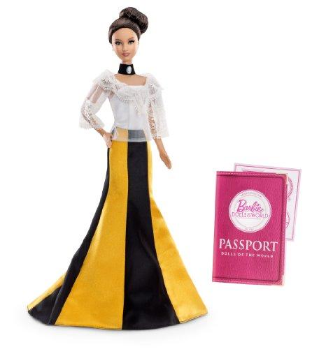 バービー バービー人形 ドールオブザワールド ドールズオブザワールド ワールドシリーズ X8423 Barbie Collector Dolls of The World-Philippines Dollバービー バービー人形 ドールオブザワールド ドールズオブザワールド ワールドシリーズ X8423