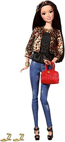 バービー バービー人形 バービースタイル CFM77 Barbie Style Raquelle Doll, Leopard Print Jacketバービー バービー人形 バービースタイル CFM77