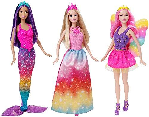 バービー バービー人形 ファンタジー 人魚 マーメイド CKB30 Barbie Fairytale 3-Doll Giftsetバービー バービー人形 ファンタジー 人魚 マーメイド CKB30