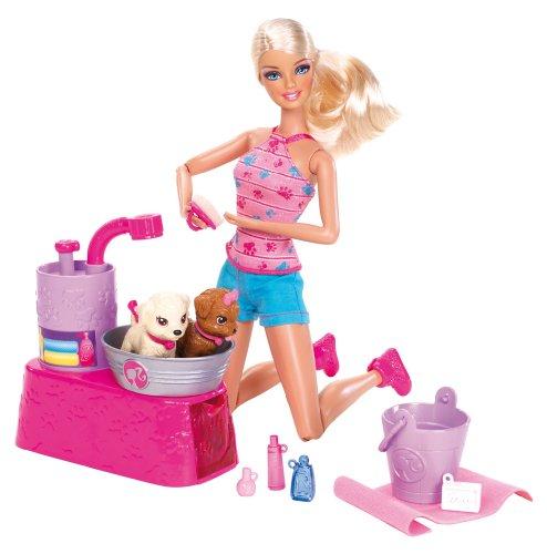 バービー バービー人形 日本未発売 プレイセット アクセサリ W3153 Barbie Suds and Hugs Pups Playsetバービー バービー人形 日本未発売 プレイセット アクセサリ W3153