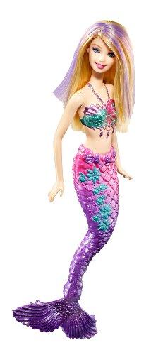 バービー バービー人形 ファンタジー 人魚 マーメイド T7405 【送料無料】Barbie Purple Color Change Mermaid Dollバービー バービー人形 ファンタジー 人魚 マーメイド T7405
