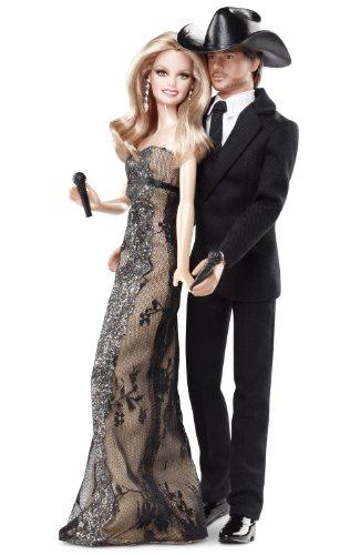 バービー バービー人形 バービーコレクター コレクタブルバービー プラチナレーベル T7904 Barbie Collector Tim McGraw And Faith Hill Doll Gift Setバービー バービー人形 バービーコレクター コレクタブルバービー プラチナレーベル T7904