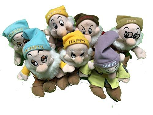 白雪姫 スノーホワイト ディズニープリンセス Disney Bean Bag Plush Stuffed Animals Snow White 7 Dwarfs白雪姫 スノーホワイト ディズニープリンセス