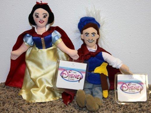 白雪姫 スノーホワイト ディズニープリンセス Reti赤 Disney Princess and Snow 白い and Snow 白い Prince Set of Plush Bean Bag Dolls Mint with Tags白雪姫 スノーホワイト ディズニープリンセス
