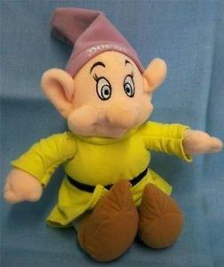 白雪姫 スノーホワイト ディズニープリンセス Disney Snow White and the Seven Dwarfs Dopey Plush Soft 6