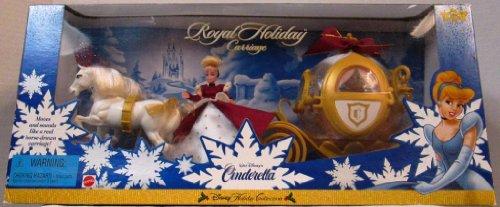 シンデレラ ディズニープリンセス 19096 【送料無料】Disney Cinderella Royal Holiday Carriage and Mini Doll Play Set Holiday Collection - 1998シンデレラ ディズニープリンセス 19096