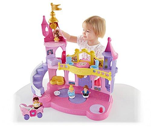 ディズニープリンセス DFW14 Fisher-Price Little People Disney Princess Musical Dancing Palaceディズニープリンセス DFW14
