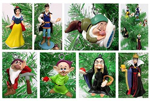 白雪姫 スノーホワイト ディズニープリンセス 【送料無料】Snow White Christmas Tree Ornaments - 2