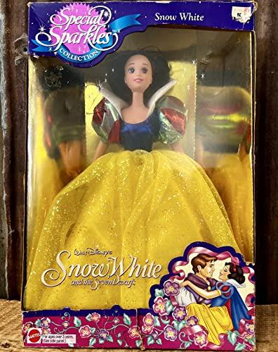 白雪姫 スノーホワイト ディズニープリンセス Barbie Special Sparkles Collection Snow White Disney Doll by Mattel白雪姫 スノーホワイト ディズニープリンセス