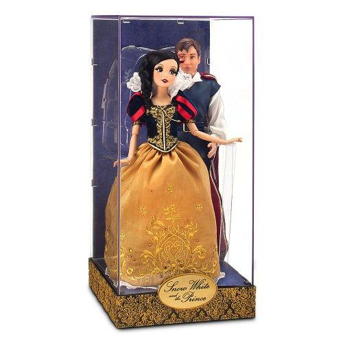 白雪姫 スノーホワイト ディズニープリンセス 【送料無料】Disney Exclusive 11.5 Inch Fairytale Designer Collection Doll Set Snow White & The Prince白雪姫 スノーホワイト ディズニープリンセス
