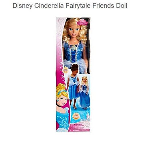 無料ラッピングでプレゼントや贈り物にも。逆輸入並行輸入送料込 シンデレラ ディズニープリンセス 【送料無料】Disney Princess Cinderella Fairytale Friends My Size Doll, 38 inchesシンデレラ ディズニープリンセス