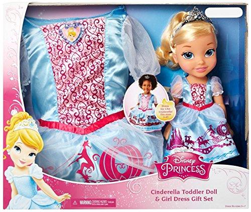 シンデレラ ディズニープリンセス 77014 【送料無料】Disney Princess 77014 Cinderella Toddler Doll & Girl Dress Gift Setシンデレラ ディズニープリンセス 77014