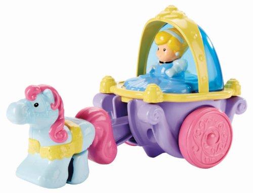 シンデレラ ディズニープリンセス BLP65 【送料無料】Fisher Price Little People Disney Princess - Klip Klop Cinderella Coach Vehicleシンデレラ ディズニープリンセス BLP65