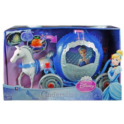 シンデレラ ディズニープリンセス X28479993 Cinderella Transforming Carriage Doll Accessoriesシンデレラ ディズニープリンセス X28479993