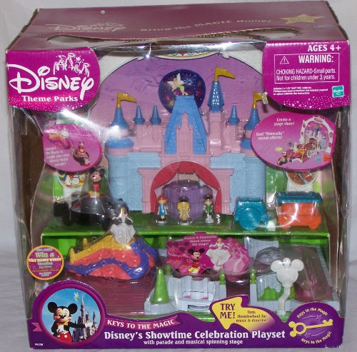 シンデレラ ディズニープリンセス 6358 Disney's Showtime Celebration Playset with Parade & Musical Spinning Stage with Mickey Mouse and Cinderellaシンデレラ ディズニープリンセス 6358