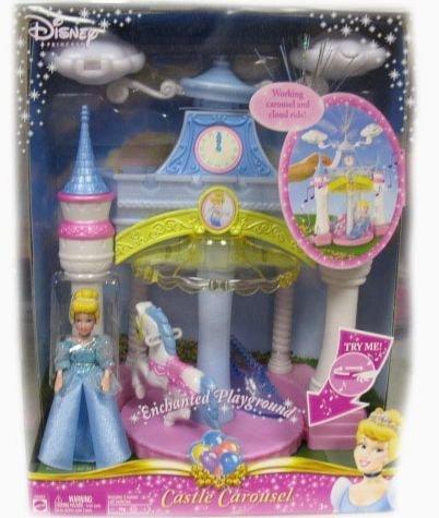シンデレラ ディズニープリンセス 【送料無料】Disney Princess Enchanted Cinderella Musical Castle Carousel Playsetシンデレラ ディズニープリンセス