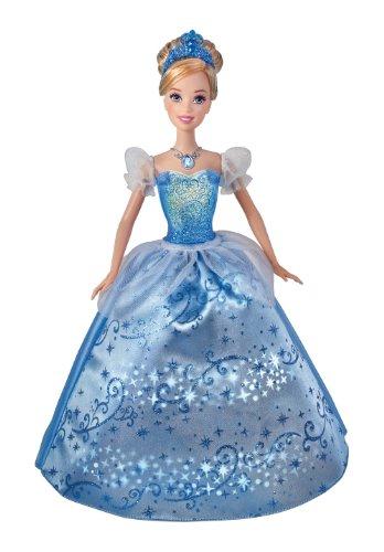 シンデレラ ディズニープリンセス X3960 Disney Princess Swirling Lights Cinderella Dollシンデレラ ディズニープリンセス X3960
