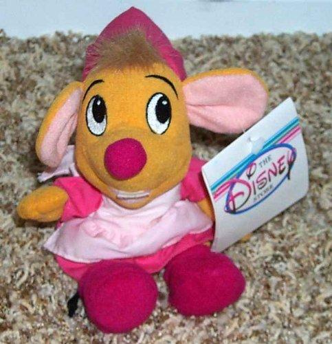 シンデレラ ディズニープリンセス 【送料無料】Retired Disney Cinderella 7 Inch Plush Bean Bag Suzy Mouse Dollシンデレラ ディズニープリンセス
