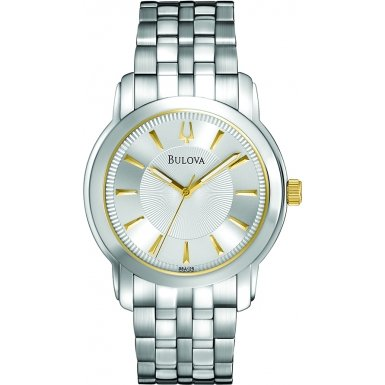 ブローバ 腕時計 メンズ 98A125 【送料無料】Bulova 98A125 Mens Silver Watchブローバ 腕時計 メンズ 98A125