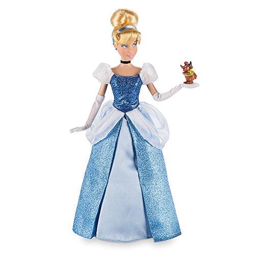 シンデレラ ディズニープリンセス 460010307818 Disney Cinderella Classic Doll with Gus Figure - 12 Inchシンデレラ ディズニープリンセス 460010307818