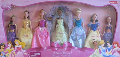 ディズニープリンセス r Disney ULTIMATE PRINCESS DOLL Collection w 7 Dolls TARGET Exclusive (2009)ディズニープリンセス r