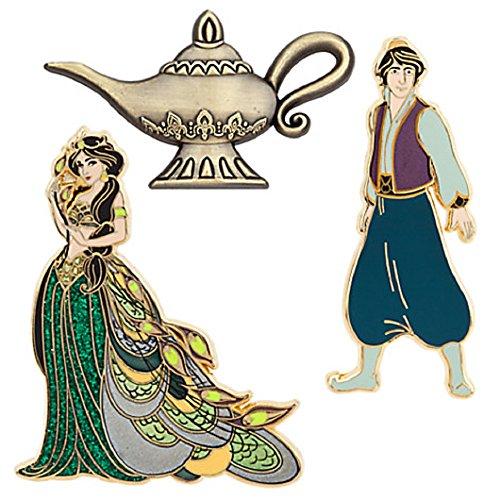 アラジン ジャスミン ディズニープリンセス Disney D23 The Art of Jasmine Limited Edition Pin Setアラジン ジャスミン ディズニープリンセス