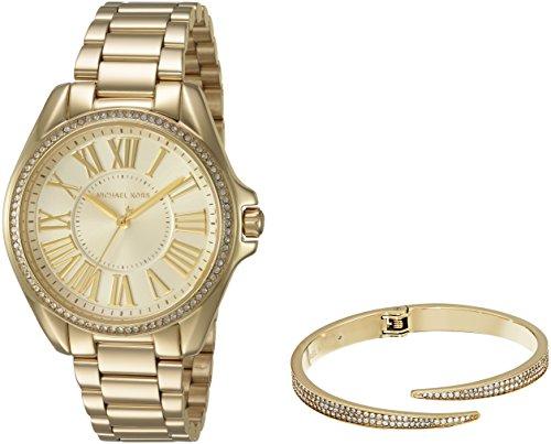 マイケルコース 腕時計 レディース 母の日特集 マイケル・コース MK3568 【送料無料】Michael Kors Women's Kacie Gold-Tone Watch and Bracelet Gift Set MK3568マイケルコース 腕時計 レディース 母の日特集 マイケル・コース MK3568
