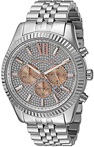マイケルコース 腕時計 メンズ マイケル・コース アメリカ直輸入 MK8515 Michael Kors Men's Lexington Silver-Tone Watch MK8515マイケルコース 腕時計 メンズ マイケル・コース アメリカ直輸入 MK8515