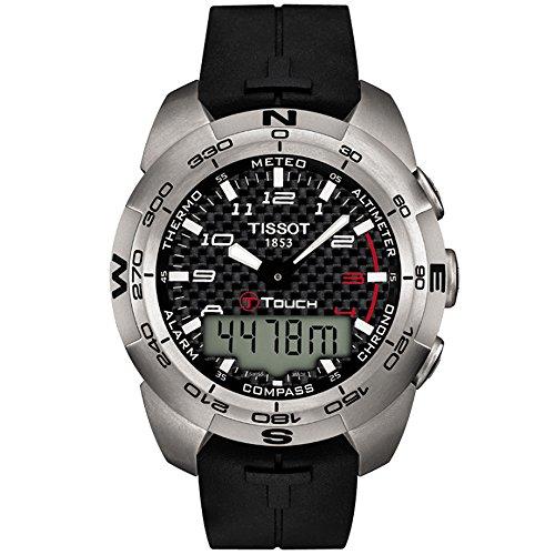 腕時計 ティソ メンズ T0134204720200 【送料無料】Tissot Men's T0134204720200 T-Touch Expert Watch腕時計 ティソ メンズ T0134204720200