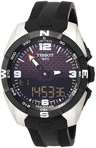 腕時計 ティソ メンズ T0914204720701 【送料無料】Tissot T-Touch Expert Solar NBA Speacial Edition Black Dial Mens Watch T0914204720701腕時計 ティソ メンズ T0914204720701