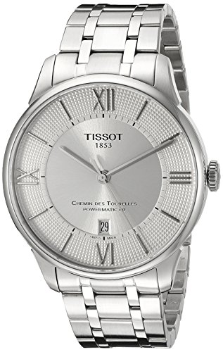 腕時計 ティソ メンズ T0994071103800 【送料無料】Tissot Men's T0994071103800 Chemin Des Tourelles Powermatic 80 Analog Display Swiss Automatic Silver Watch腕時計 ティソ メンズ T0994071103800