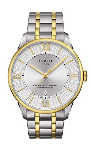 ティソ 腕時計 Chemin メンズ T0994072203800 Tissot Men's Chemin 20 Des Tourelles ティソ Swiss-Automatic Watch with Stainless-Steel Strap, Two Tone, 20 (Model: T0994072203800ティソ 腕時計 メンズ T0994072203800, ゴノヘマチ:665469a3 --- 2017.goldenesbrett.at