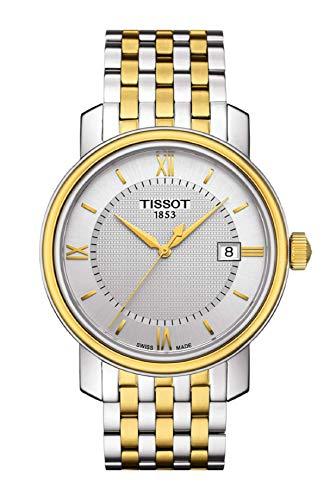 ティソ 腕時計 メンズ Tissot Bridgeport Two-Tone Mens Watch T0974102203800ティソ 腕時計 メンズ