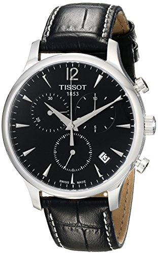 ティソ 腕時計 メンズ T063.617.16.057.00 Tissot Men's T063.617.16.057.00 Black Dial Tradition Watchティソ 腕時計 メンズ T063.617.16.057.00