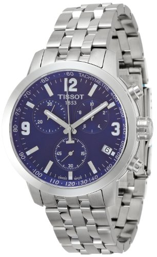 ティソ 腕時計 メンズ T0554171104700 Tissot T055.417.11.047.00 Mens PRC 200 Stainless Steel Chronograph Dive Swiss Made Watchティソ 腕時計 メンズ T0554171104700