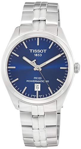 ティソ 腕時計 メンズ T1014071104100 【送料無料】Tissot PR 100 Automatic Blue Dial Men's Watch T101.407.11.041.00ティソ 腕時計 メンズ T1014071104100