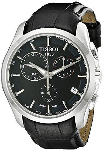 ティソ 腕時計 メンズ T0354391605100 【送料無料】Tissot Men's T0354391605100 Analog Display Swiss Quartz Black Watchティソ 腕時計 メンズ T0354391605100